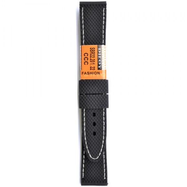 Silikonski kais - SK7 Crna boja 20mm