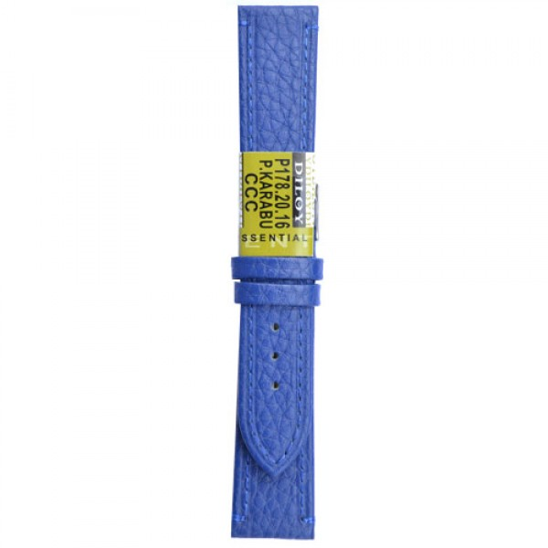 Kozni kais Diloy DIL178.16 Indigo plava boja