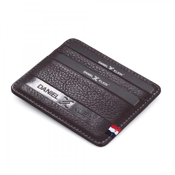 Daniel Klein futrola za kartice kožna DKW1090-03