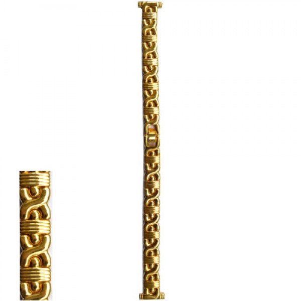 Metalni kais zlatni - ZMK-212 Zlatni 14mm