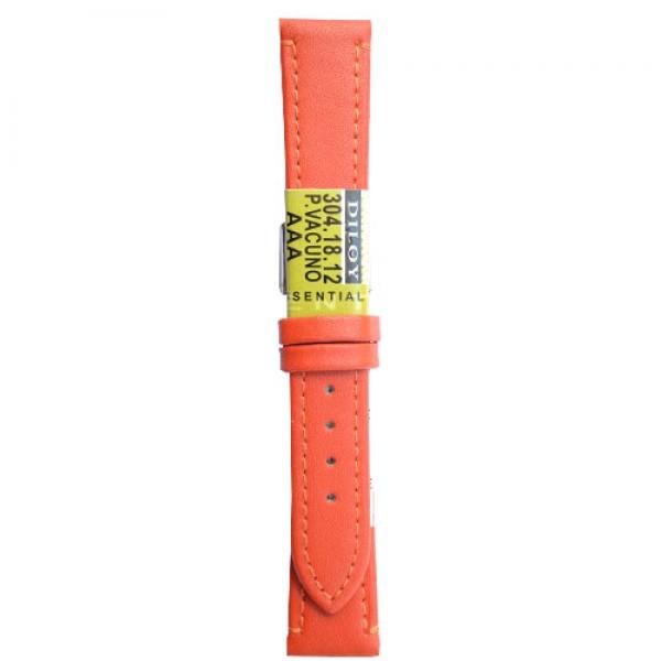 Kozni kais Diloy DIL304.12 Narandzasta boja