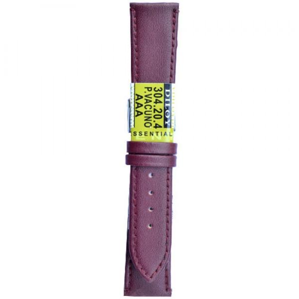 Kozni kais Diloy DIL304.4 Tamno crvena boja