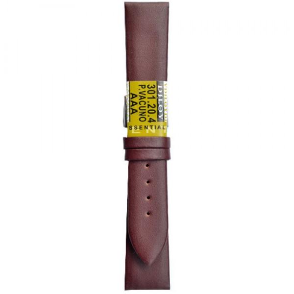 Kozni kais Diloy DIL301.4 Tamno crvena boja