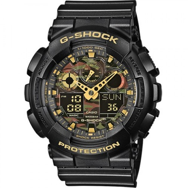 CASIO G-SHOCK GA-100CF-1A9
