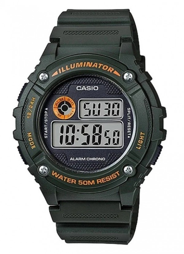 CASIO DIGITALNI W-216H-3B